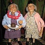 Старушки - веселушки от Annie Wahl, Richard Simmons. Или как  бессовестно изменить авторскую куклу и не расстроиться...