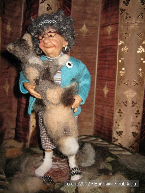 Старушка от Annie Wahl, Richard Simmons