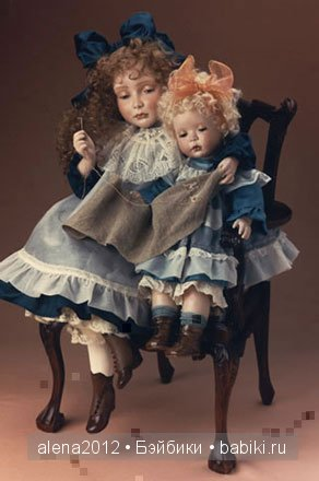 Авторские куклы Синди Макклур (Cindy McClure)