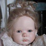 Bobblechen от Ruth Treffeisen, фарфоровая малышка