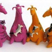 Фантазируем, творим! Жираф, бычок, коты и зайцы  - всё в наших руках