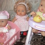 Повседневная жизнь игровых куклят