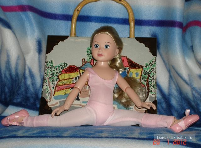 Ленивая блондинка балерина фото 506-844