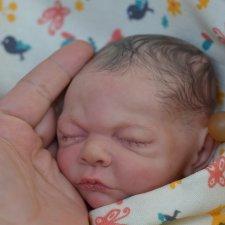 Малышка реборн Милана,  молд  Rosebud от Cindy Musgrove.