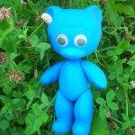 Синий медвежонок из СССР