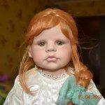 Фарфоровая кукла, Рыжик от Beverly Stoehr