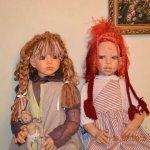 Salmia and Yumi by Martha Pineiro