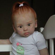 Кукла реборн букашечка, молд Adelaide by Andrea Arcello, художник Ekaterina Abbyasova babies