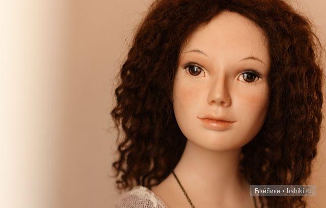 Авторская фарфоровая кукла Лены Гриневой