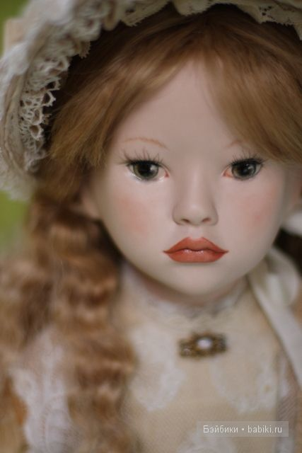 Аглая. Авторская фарфоровая кукла Лены Гриневой