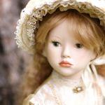 Моя новая кукла Аглая. Авторская фарфоровая кукла Лены Гриневой