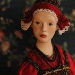 Авдотья, или еще одна авторская кукла в русском костюме