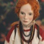 Авторская кукла Варя