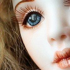 Моя первая фарфоровая шарнирная кукла. Есть фото 18+