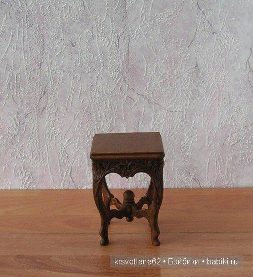 табуреточка! Кукольная мебель