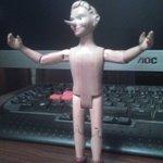 Моя первая шарнирная деревянная кукла - Буратино
