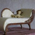 Кушетка для кукол 35-50 см
