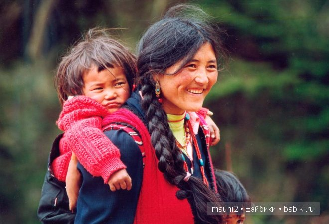 дети Тибета