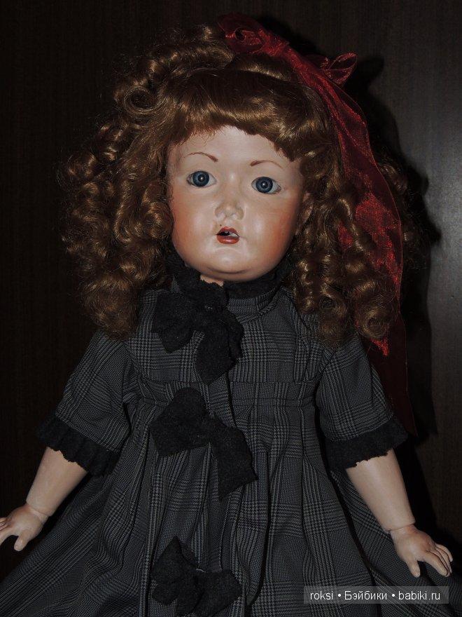 Шарнирная кукла, выполненная под антик. Авторские куклы Ольги Руженцевой
