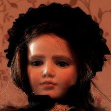 Авторская кукла ручной работы 49 см