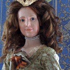 Шарнирная кукла Мария Терезия - Австрийская