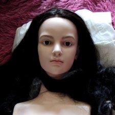 Добрый день. Немного процесса... большая кукла 154 см