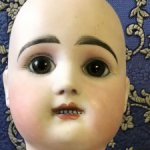 Реставрация антикварную фарфоровой , восковой, куклы / с большими повреждениями