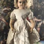 Ранняя английская восковая кукла 1860 год .Дж. Мича./ В любое время могу снять с продажи.