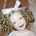 Моя фарфоровая кукла Джой от Dawn Adams