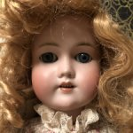 Антикварная кукла Simon&Halbig. 17900 -НЮД