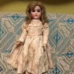 Антикварная кукла от C. M. Bergmann BB II -НЮД- 21500