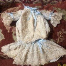 Платье для антикварной куколки