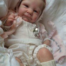 Малышка Ава в процессе работы. Кукла реборн Анны Морозовой