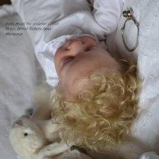 Пип - снежный Ангел. Кукла реборн Анны Морозовой