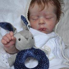 Джуди рождается. Кукла реборн Анны Морозовой