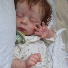Джуди родилась. Кукла-реборн Анны Морозовой