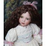Викторианская кукла Tess от Linda Mason
