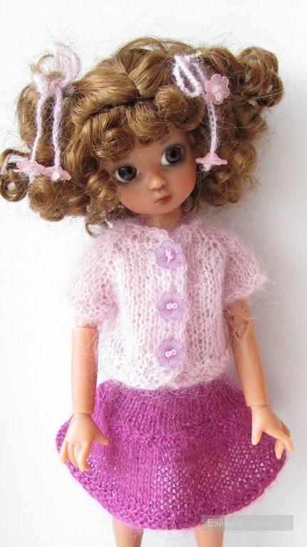 вязаная одежда для наших кукол одежда и обувь для кукол своими