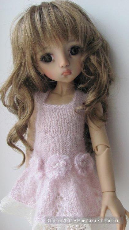Агата, БДЖ кукла формата МСД, автор -Линда Макарио.