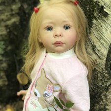Мое творение куколка Hedi