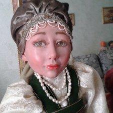 Моя новая авторская кукла Дуняша