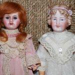 Антикварные куклы: французская кукла Unis и характерная немецкая кукла Revalo