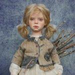 Продам авторскую интерьерную куклу Грейс Натальи Ворожко