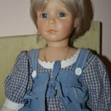 Коллекционная виниловая куколка Кристина от Christine Kleinert