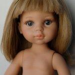 """Карла - блондиночка с  телом """"старого"""" типа."""