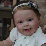 Улыбчивая и счастливая малышка Maizie .Куклы реборн Анастасии Гангало