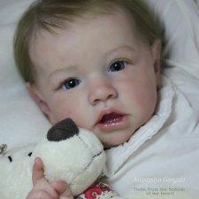 Моя любимая Саския. Кукла реборн Анастасии Гангало