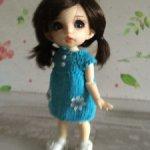 Платье Тюльпан для малышек 16 см
