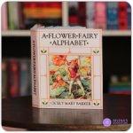 """Миниатюрная книга 1:6 про фей  """"A Flower Fairy Alphabet"""" от Cicely Mary Barker"""