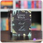 """1:6 Миниатюрная книга - травник зеленой ведьмы """"Green Witch book of herbs"""""""